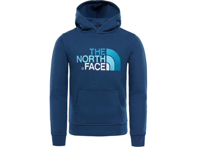 The North Face Drew Peak Sweat à capuche Enfant, blue wing teal